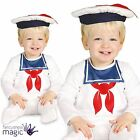 Baby Toddler Boys White Sailor Doughboy Halloween Fancy Dress Costume Outfit Hat