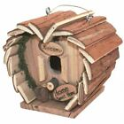 HANGING WOODEN NESTING BOX INSECT BEE HO...