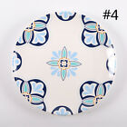 New Dinner Plate Vintage Floral Dish Security Round Ceramic Kitchen Tableware