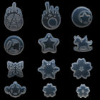Resin Silicone Pendant Mold Tear Star Ornaments Handmade Making Mould Jewelry