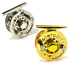 60mm Dia. 3 BB Little Fly Fishing Reels Ultra Light Left Right Hand Gold Silver
