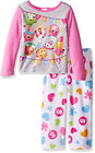 Shopkins Girls' 2-Piece Fleece Pajama Set Sizes 8, 10