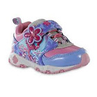 Dreamworks Trolls Toddler Girls' Pink/Purple Light-Up Athletic Sneakers Shoes