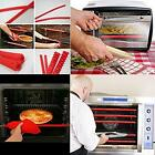 Silicone Oven Rack Guards 2 Pack Oven Shelf Rack Edge Liner Cover NEW - S