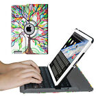 Apple iPad 2 / 3 / 4 Wireless Bluetooth Keyboard Rotating Leather Case Cover