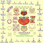 Holiday Machine Embroidery Designs CD-8 sets=369 designs- by Anemone Embroidery