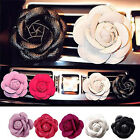 Car Vehicle Camellia Flower Air Outlet Perfume Clip Freshener Diffuser Ornament
