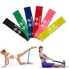 Внешний вид - Gym Equipment Resistance Mini Band Strength Training Equipments Latex Fitness 1X