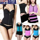 Tank Top Vest Waist Trimmer Adjustable Shaper Waist Trainer Cincher Belt Corset