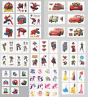 4 Sheets Small Temporary Tattoo Kids Costume Party Bag Favor Gift Marvel Hero