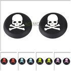 Patterned Skull Silicone Thumbsticks Cap Grips for PS4 PS3 Xbox One Controller