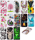 Luminous Popular Patterned Print Slim TPU Back Cover For Samsung A/J 2017 Series