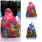 1PCS Inside Out Children Cartoon Drawstring Backpacks School Shopping Party Bags