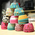 100Pcs Paper Cake Cup Cases Cupcake Baking Muffin Dessert Party Wedding Decor