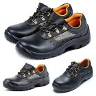 New Men Work Shoes Safety Steel Toe Anti Piercing Shoes Wireman Insulated Shoes