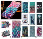 Vogue Print Magnetic Flip Wallet Cover + TPU Case For iPhone/Samsung/HTC/Huawei