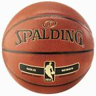 Spalding NBA Gold Indoor Outdoor Composite Leather Basketball