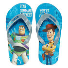 TOY STORY BUZZ LIGHTYEAR & WOODY DISNEY Boys Flip Flops Beach Sandals Thongs NWT