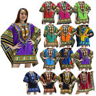 Mini Dress MJD Thai Cotton African Dashiki Kaftan Festival Boho Shirt Top Women