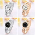 Women Mens New Fashion Elegant Silver Rose Gold Alloy Quartz Watch Wristwatch
