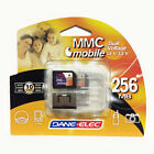 Dane Elec 256MB MMC Memory Card With Carry Case Digital Camera Mobile Phone Mp3