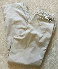 WOMENS THE NORTH FACE BEIGE LIGHT WEIGHT SUMMER HIKING TROUSERS M MEDIUM