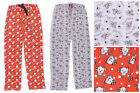 Ladies Lounge Pants 101 Dalmations and Tweety Pie Straight Legged Size 10 to 16