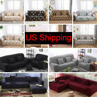 US Ship Stretch Chair Sofa Covers 1 2 3 Seater Protector Couch Cover Slipcover