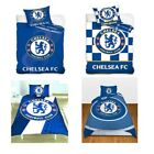 CHELSEA FC SINGLE AND DOUBLE DUVET COVER SETS BEDDING BEDROOM
