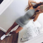 New Women Bandage Sleeveless Evening Dress Cocktail Mini Short Bodycon Dresses