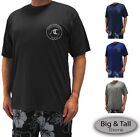 Внешний вид - Big & Tall Men's H2O Sport Tech Short Sleeve Swim Shirt - Loose Fit 2XL - 5XLT