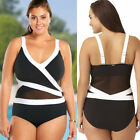 New Women One Piece Bathing Monokini Push Up Padded Bikini Swimsuit Swimwear US