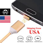 Fast Charge Magnetic Micro USB Charge Sync Data Cable Cord For Samsung Phone