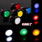 5V 12V 45MM Arcade Video Game Big Round Push Button LED Lighted Illuminated Lamp