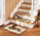 COUNTRY STAR DESIGN NON SKID STAIR TREADS OR LANDING RUG DECOR