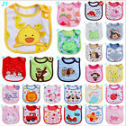 Newborn Baby Kid Cute Cozy Infant Animal Waterproof Saliva Towel Baby Bib Lots