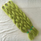 "T0445 24"" Ombre Dip Kanekalon Jumbo Braid Hair Extensions Best Quality Fiber"