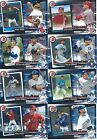 2017 Topps Series 1 Now and Then Baseball cards - Complete Your Set !!