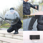Round PC Handheld Anti-Riot SWAT Police Shield for Security Protection 55x55cm