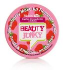 Beauty Junky Strawberry Make Up Remover Pads Alcohol Free Quantity Choice 75/150