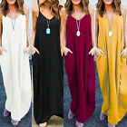 Women Summer Casual Long Maxi Dress Evening Party Cocktail Beach Dress Sundress