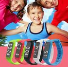 Smart fitbit style Childrens Kids Adults Sports Watch Fitness Tracker Pedometer