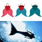 Kids/Adults Swimmable Mermaid Tails Diving Monofin Mono Swimming Fins Flippers