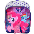 "MY LITTLE PONY PINKIE PIE 16"" Full-Size Backpack w/ Optional Insulated Lunch Box"