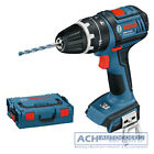 BOSCH Cordless drill with Bellbottoms GSB 18 V-LI/Solo/L-BOX/Insert/CLICK & GO