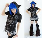 Japan Jelly Cute CAT Trendy Gothic Dolly HOOD JACKET