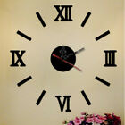 Number Mirror Wall Art Decal Removable Home Decor Art Watch Clock Wall Stickers