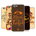 HEAD CASE DESIGNS THANKSGIVING TYPOGRAPHY HARD BACK CASE FOR HTC ONE A9s