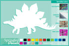 STEGOSAURUS Silhouette cut vinyl decal #2 car truck window Dinosaur Sticker