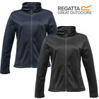 Regatta Jacket Ladies Soft Shell Synchro Wind Resistant Water Repellent New